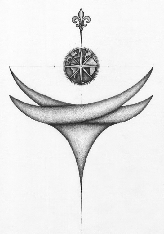 """""""Compass Rose"""" by Greg Frucci"""