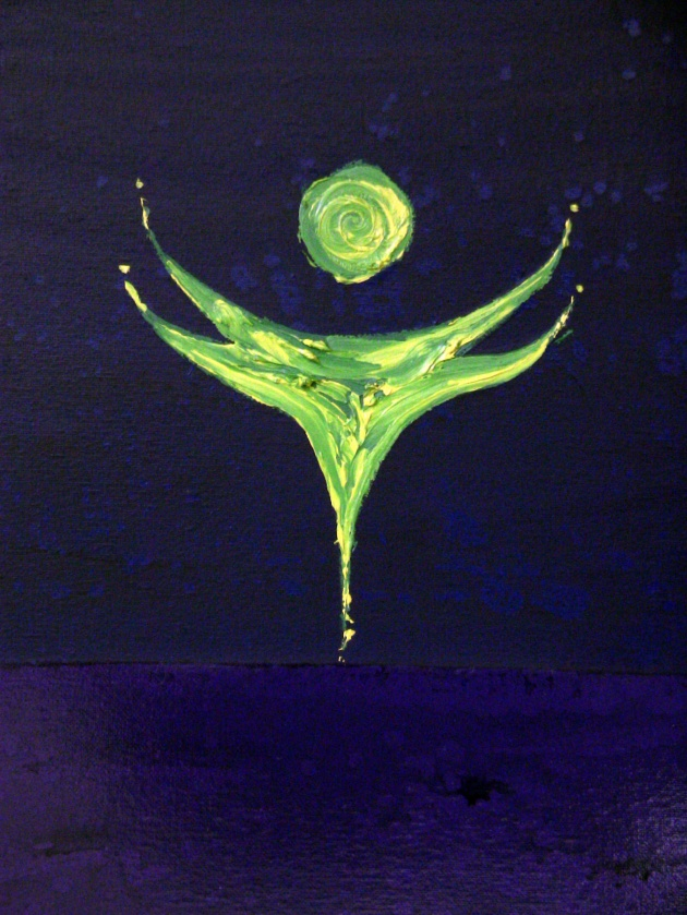 """The Indigo Sea ~ Painting #2"""
